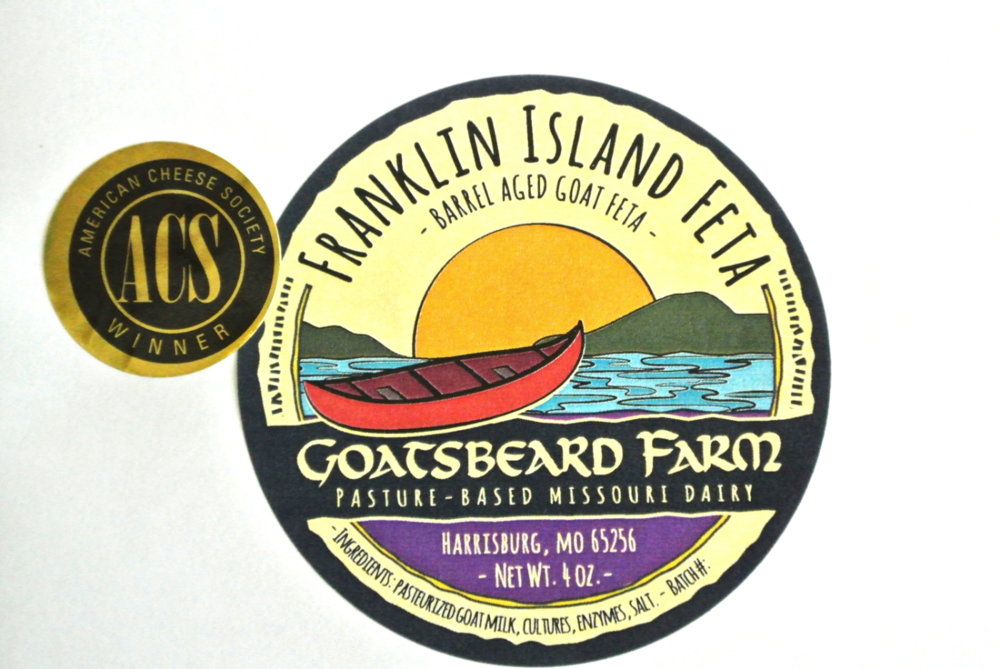 New Franklin Island Feta label.