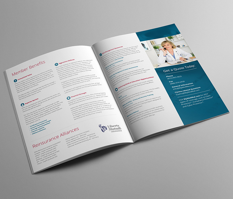 MedMal Direct  Brand Refresh, Collateral Design