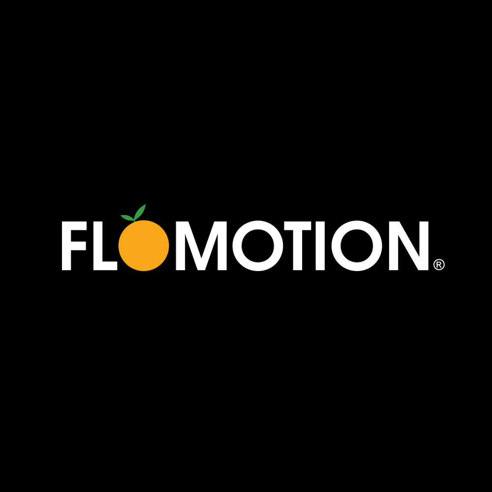 Flomotion Apparel Company  Logo Design, Brand Development, Apparel Design, Web Design