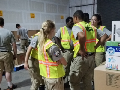 VISTA workers at the Warehouse in Baton Rouge, LA