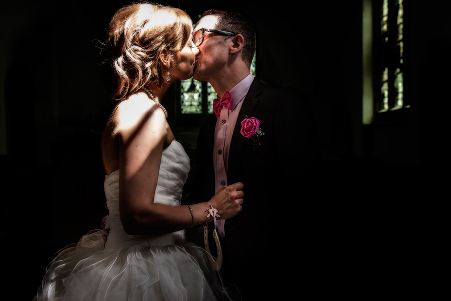 You may know kiss the bride