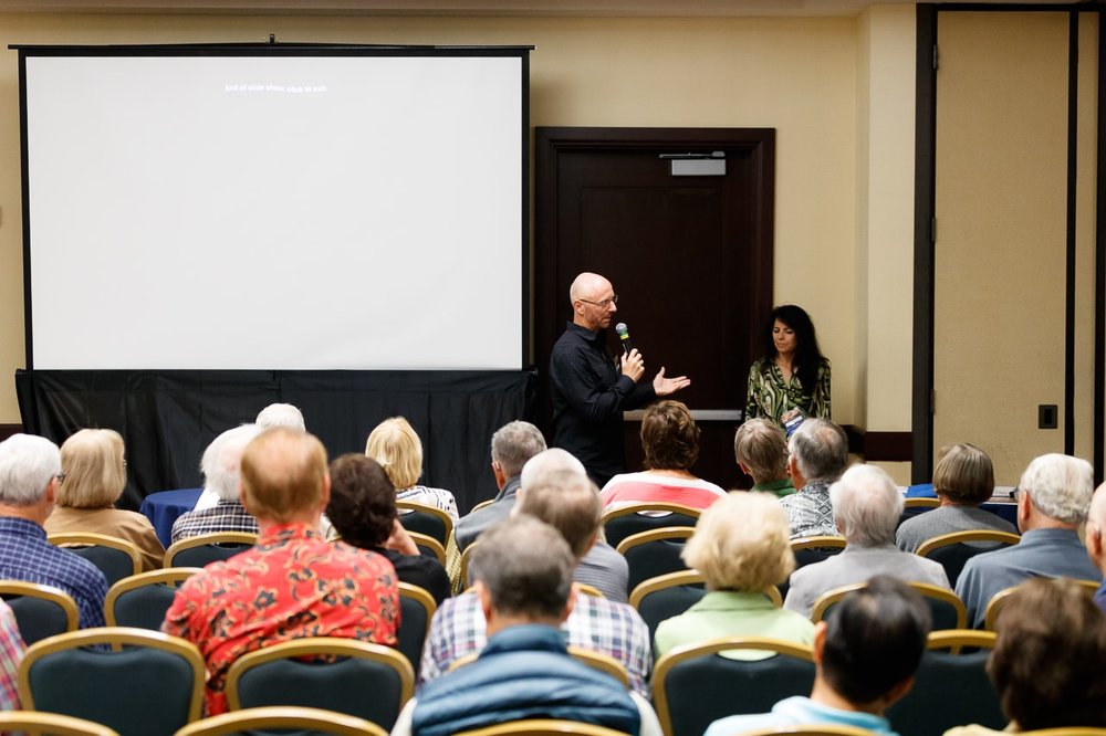 Ted Talk Speaker Michael Russer