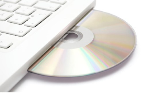 FIGURE 1: Compact disc (CD)
