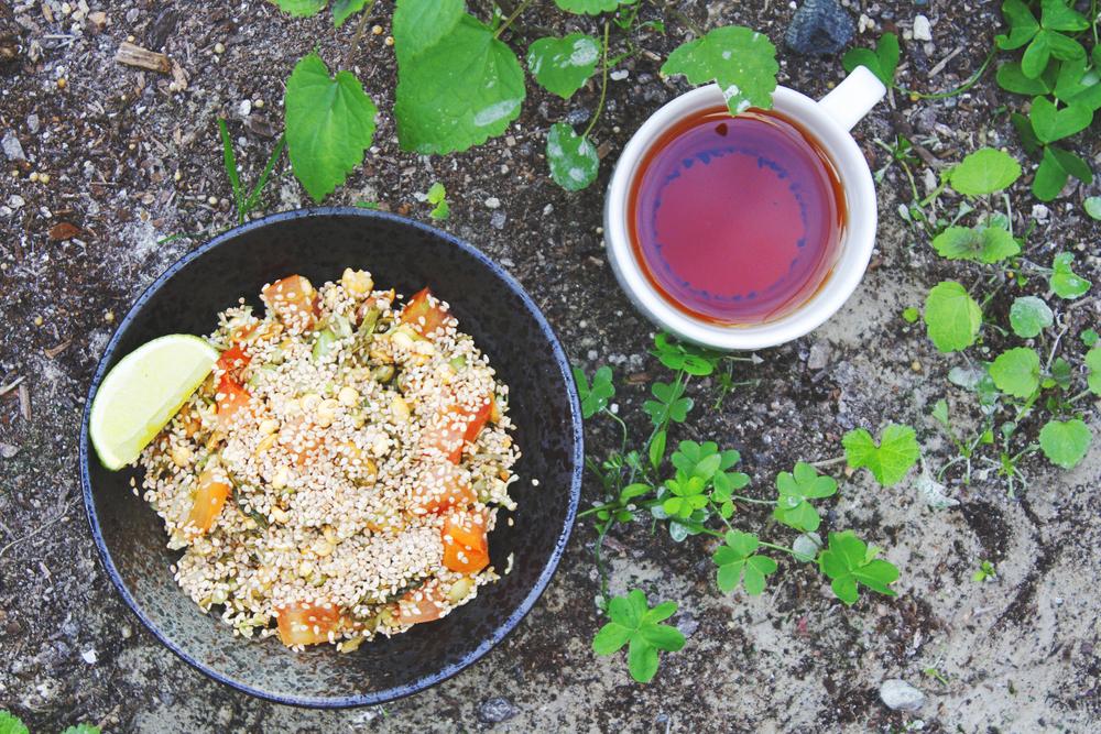 B.K. Style Burmese Tea Leaf Salad
