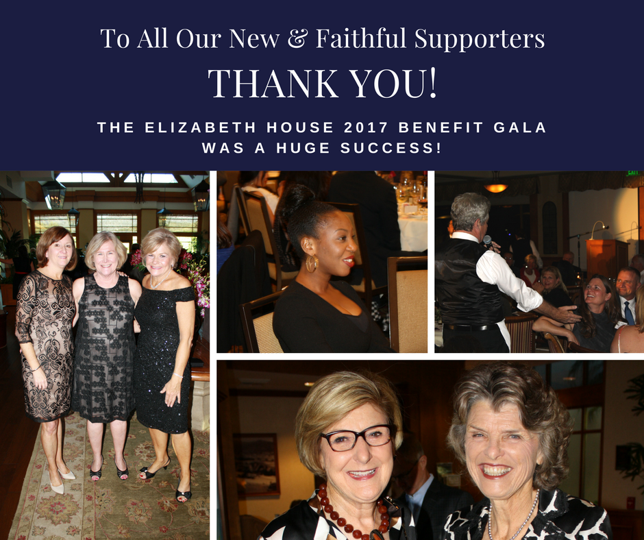 A BIG THANK YOU! - To all our sponsors, program participants, volunteers, staff and supporters who made the 2017 Elizabeth House Benefit Gala such a memorable event!Take a look at our memories here!