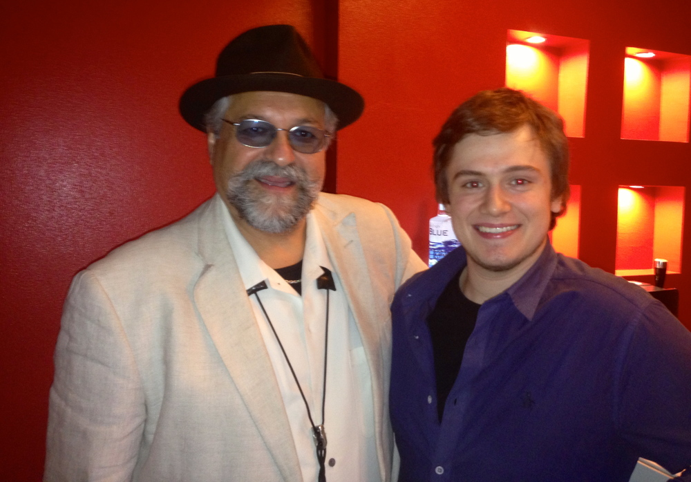 Harry Bolt with Joe Lovano