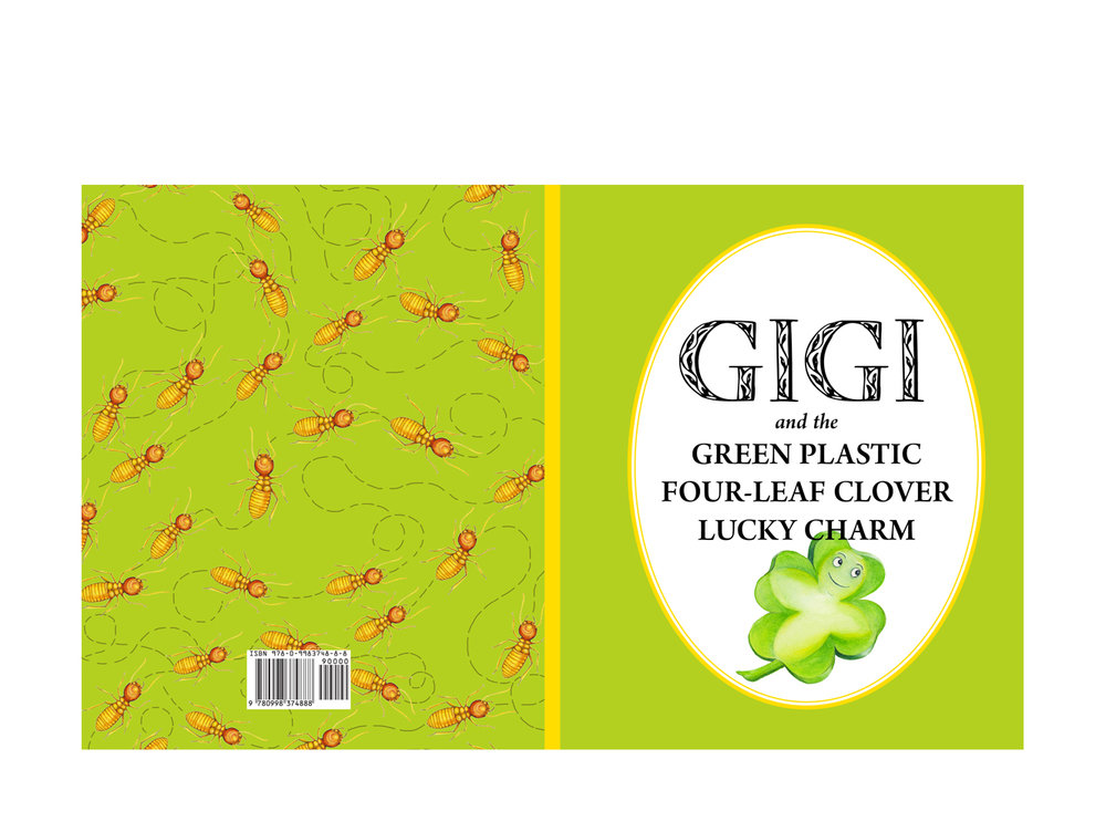 Gigi and the Green Plastic Four-Leaf Clover Lucky Charm -