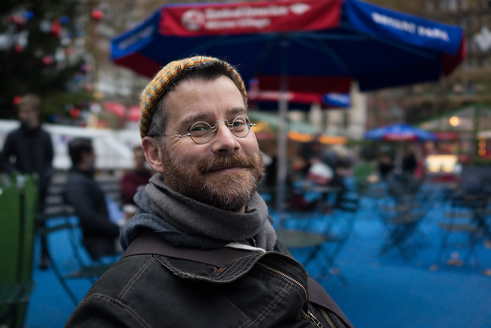 Sony RX1 - Sean at Bryant Park