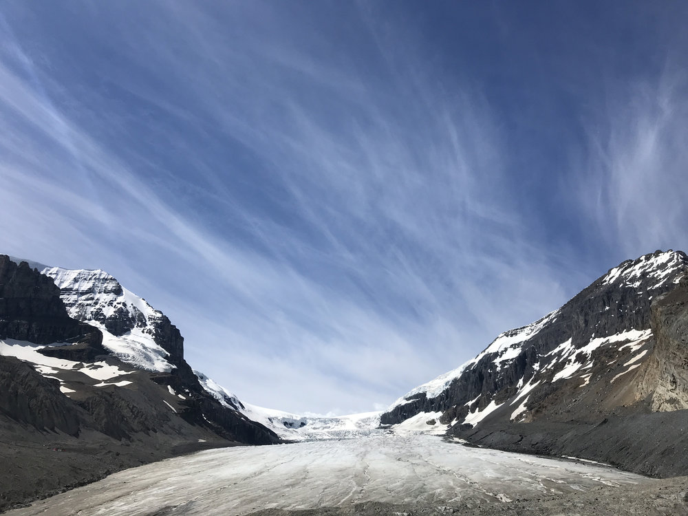 Athabasca Glacier, Columbia Icefields, AB