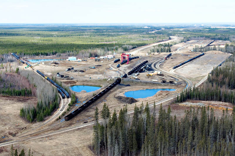 Altex Energy Oil Transload, Lynton Intermodal Fort McMurray