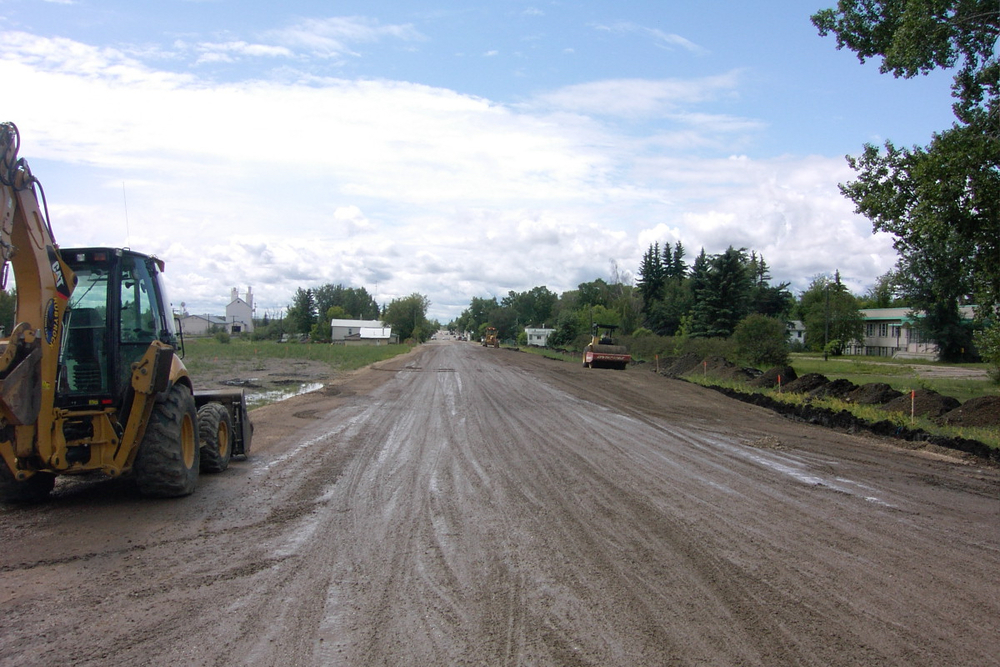 50 Street Road Upgrade - Ponoka, Alberta