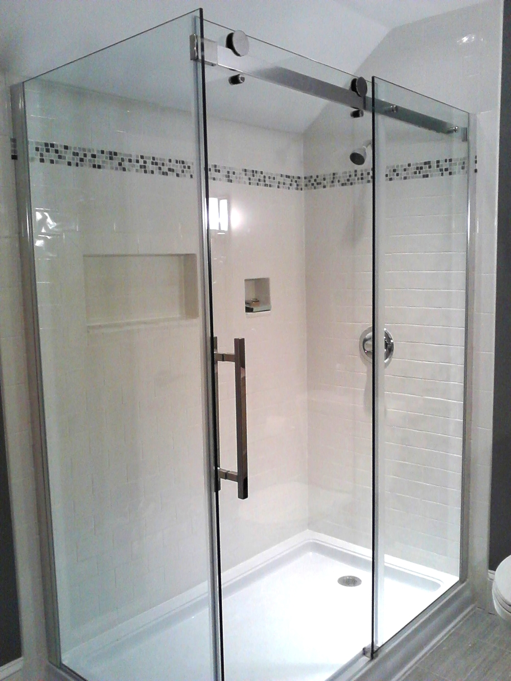 Glass Shower Enclosures — Gaithersburg Glass Company