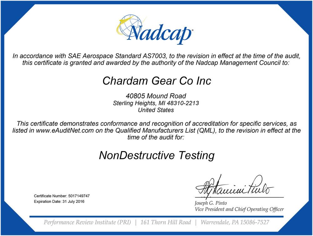 nadcap nondestructive testing