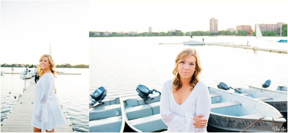 st-cloud-photographer-lake-calhoun-senior-lakeside