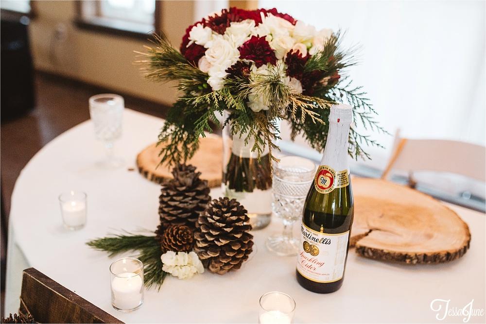 st-cloud-minnesota-wedding-photographer-the-outpost-center-chaska-snow-winter-romantic-decor
