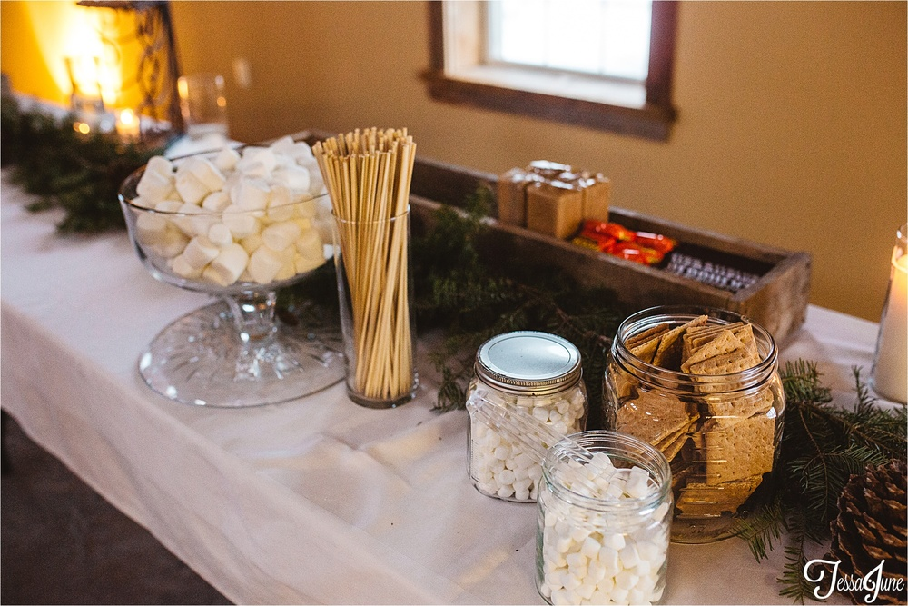 st-cloud-minnesota-wedding-photographer-the-outpost-center-chaska-snow-winter-romantic-smores-bar