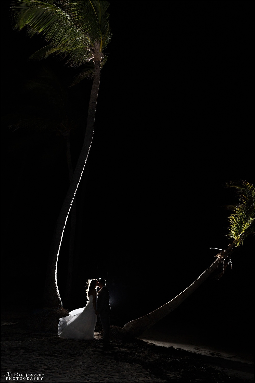 punta-cana-dreams-palm-beach-resort-destination-wedding-dominican-republic-reception-dance-sillouette-palm-trees