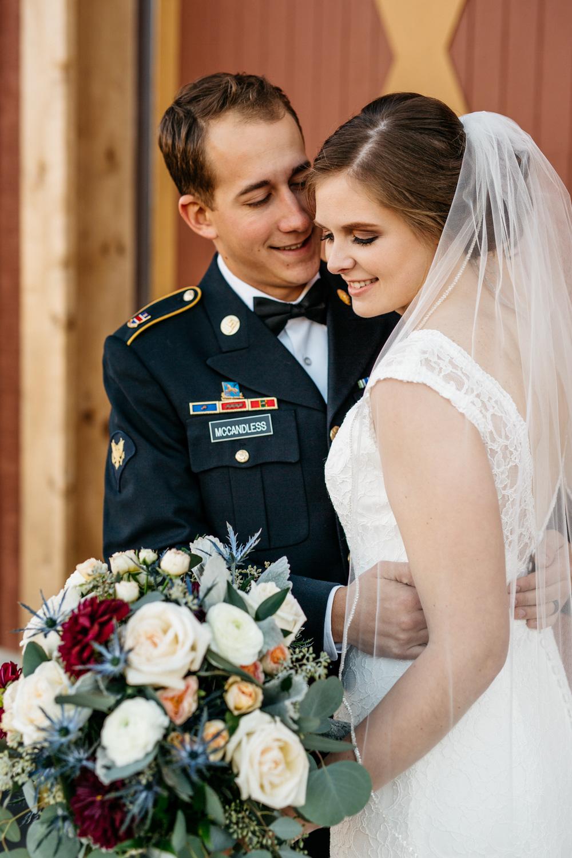 November Wedding | Samantha Robert Intimate November Wedding Windsong Farm Golf