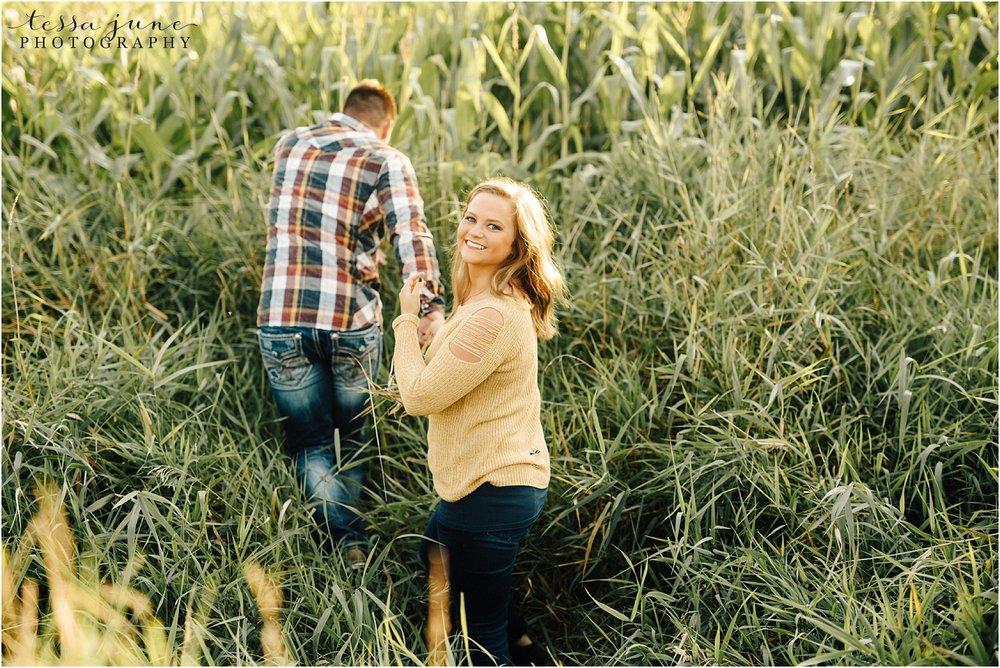 st-cloud-wedding-photographer-cornfield-engagement-session