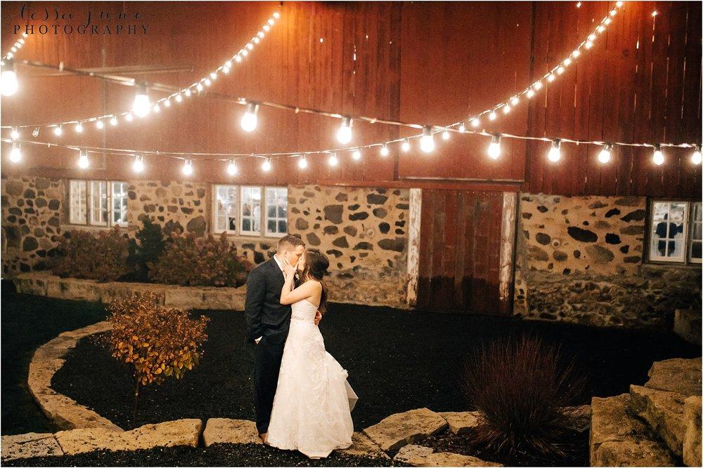 birch-hill-barn-october-wedding-wisconsin-cafe-light-night-photo