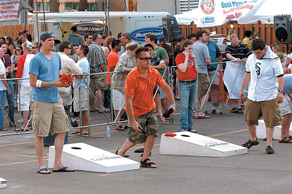 We will be hosting a Corn Hole Tournament every month from now on.  Not only will the 2-man tournament be fun but we will also be grilling and enjoying beverages.  It all kicks off after the last WOD on Friday June 19th. Please bring something to eat, grill and/or drink.