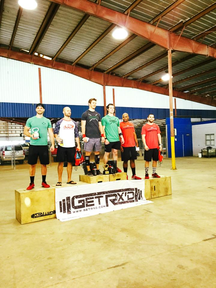 Congrats to our 1st place team this past weekend at Wod Wars 3, Jeremy and Wags.