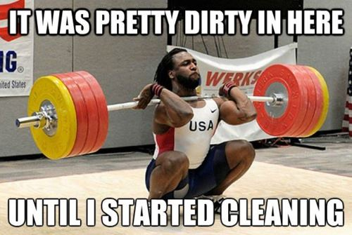 Kendrick Farris brought the Gold medal back to the US from the Pan Am Games. He did it by Snatching 359lbs and Clean and Jerking 447lbs at the body weight of 206lbs.