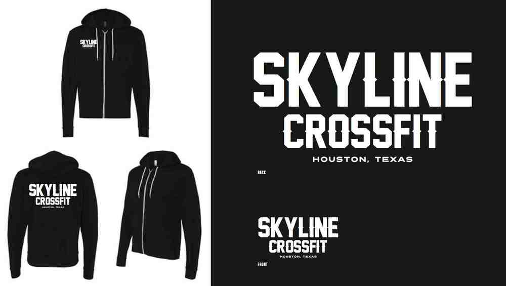 Skyline Hoodie pre orders are available until tomorrow at front desk.  These will be pre orders only and no extras will be made.  The price will be between $40-$50 depending how many we order. Sign up at front desk!