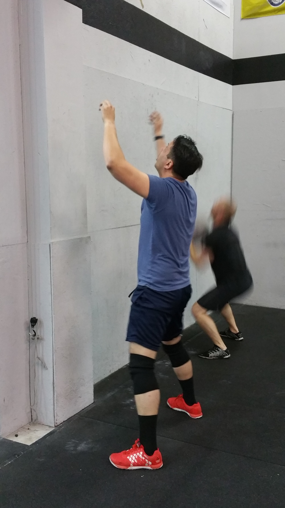 Enrique and Josh knocking out their favorite movement……..wallballs!