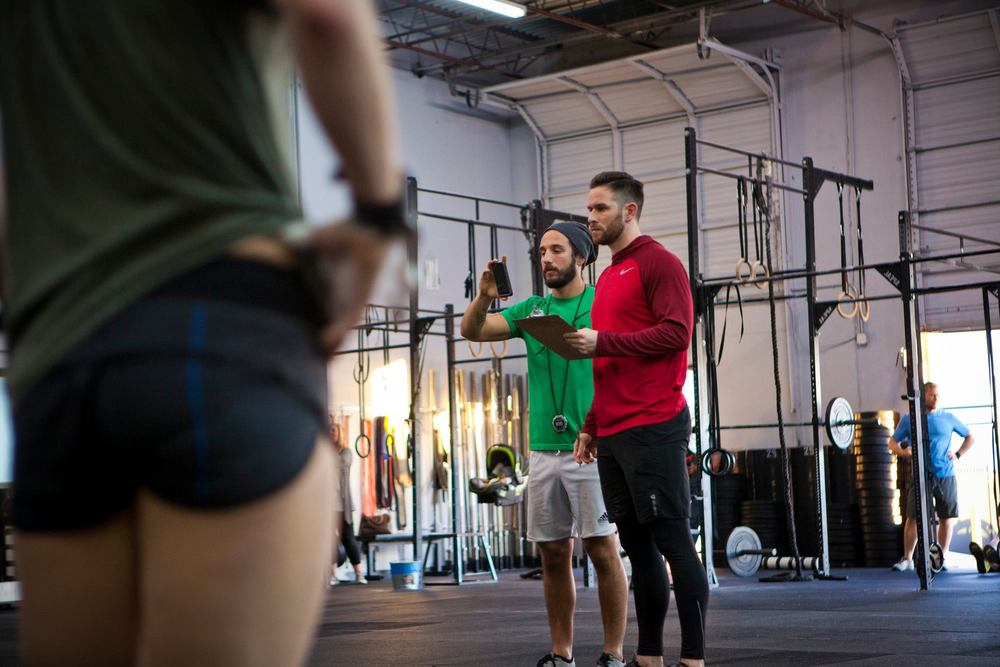 The goal is to get good enough to where someone actually has to record your CrossFit Open workouts.