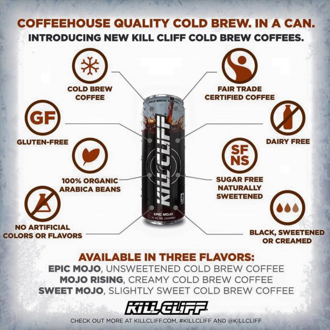 New Cold brew Coffee to Skyline vending machine.  Check it out!