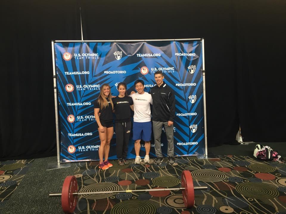 Skyline and Kim Barbell National Team. Good Job!