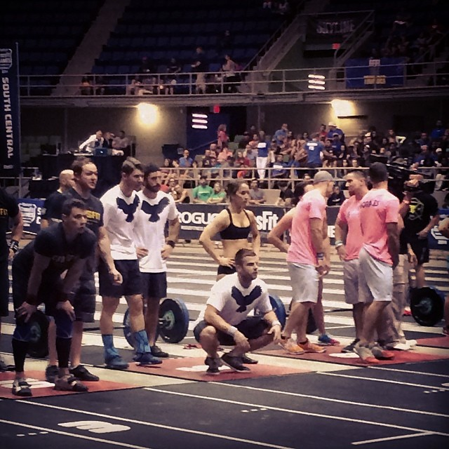 Skyline Regional Team at CrossFit Games Regionals.