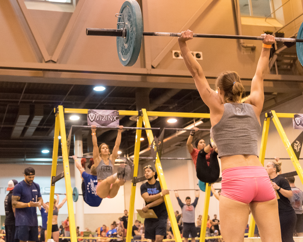 Bethany and Whitney at Fittest Summer
