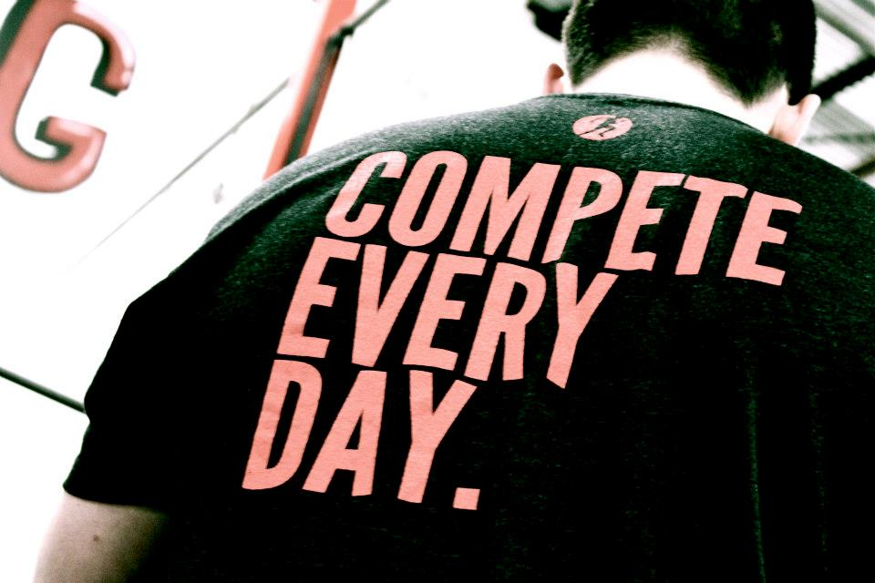 Compete Every Day will have a trunk show at Skyline CrossFit starting at 9am this Saturday.  There will be new clothes and new gear.