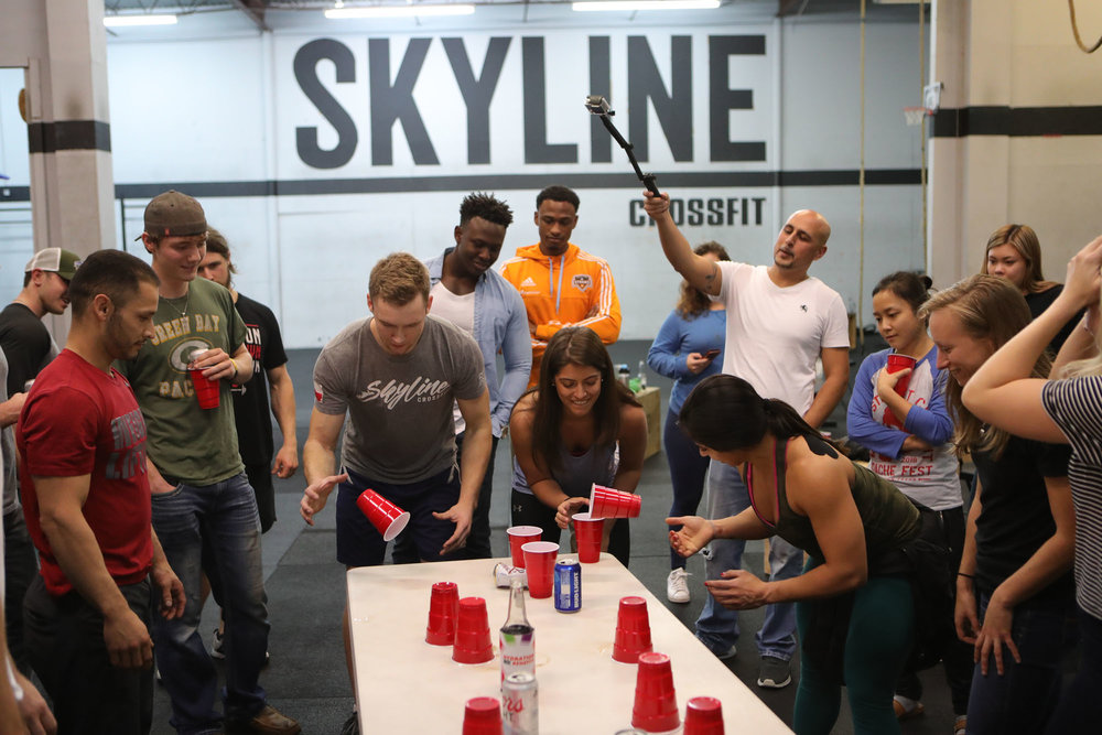 Flip Cup Battle of the Sexes!