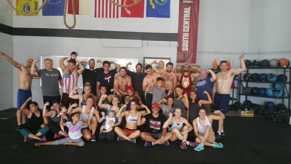 Thanks for everyone showing up and crushing the July 4th workout!!