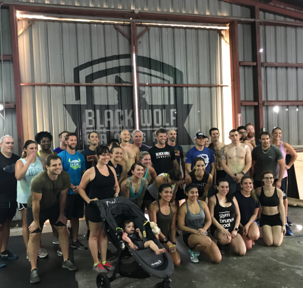 (Coach Isabel Instagram)Thank to @blackwolfcf for setting up an amazing fundraiser for our very own @skyline_crossfit_ and @crossfityellowrose who both were affected during Hurricane Harvey. People came out, got fit, had fun, and raised money to help these gyms get back on their feet!