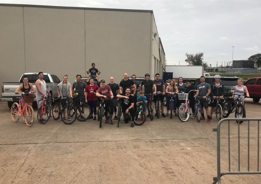 Bring your bike day last Sunday. Time for round 2!
