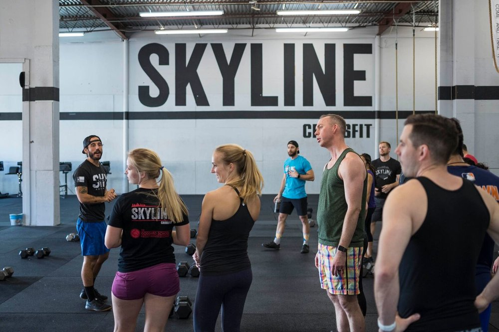 Skyline 4pm class ready to make their appearance on 18.3 announcement.