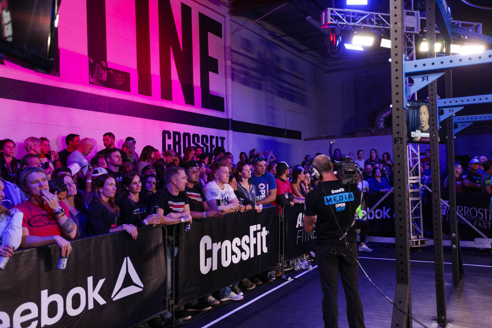 The crowd patiently waiting for the 18.3 announcement!