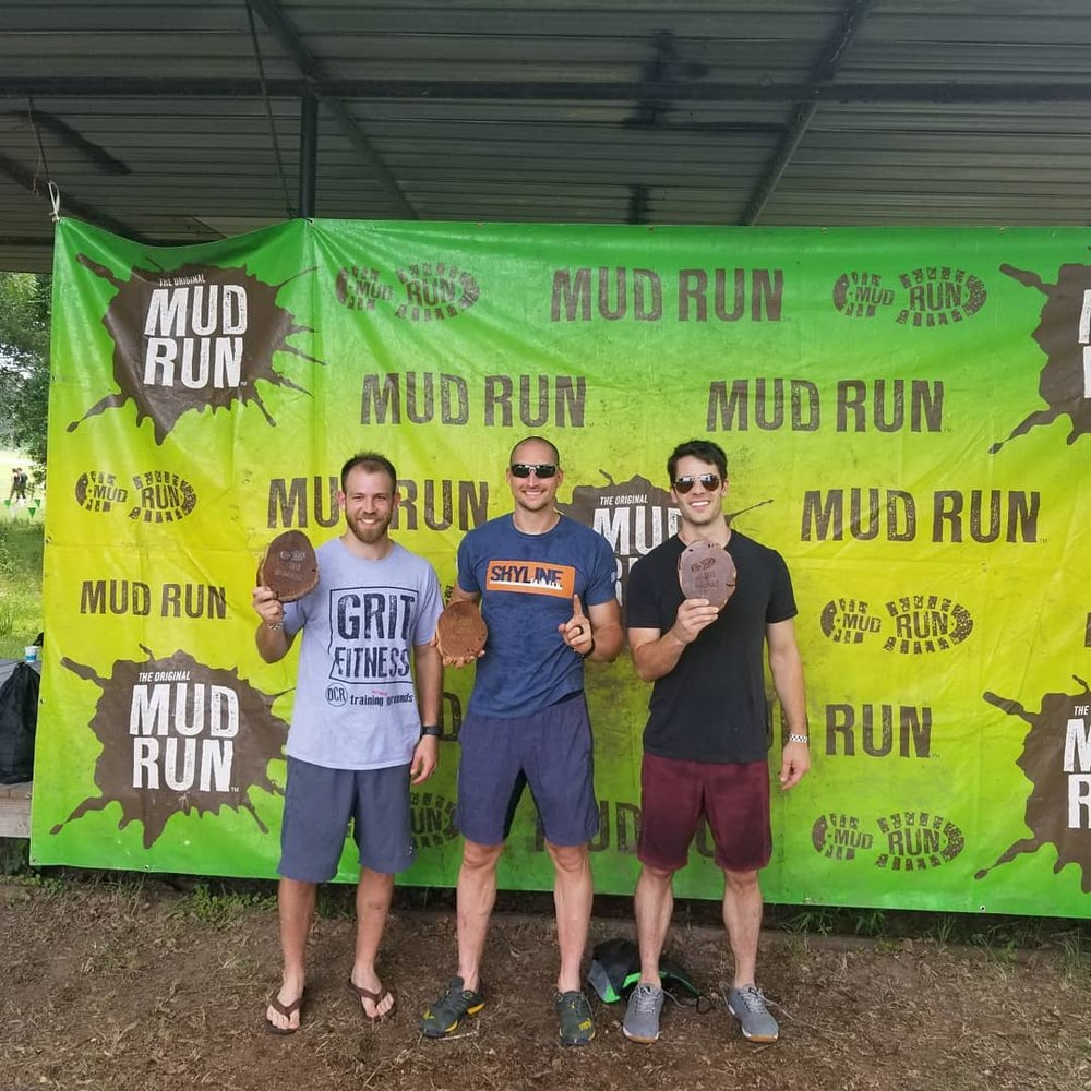 Congratulations to Zach for finishing 1st in the  Mens competitive division in The original Mud Run also Phillip for finishing on the podium taking 3rd.  This race was 7 miles with 30 Military Style and Water Obstacles all the while having to where Boots and Pants. This was a great test of fitness and mental toughness. Nice job guys!