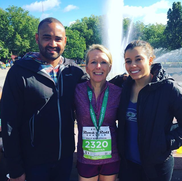 Good job to Skyline morning goer Rowitha Carter completing  a half marathon over the weekend in Seattle.