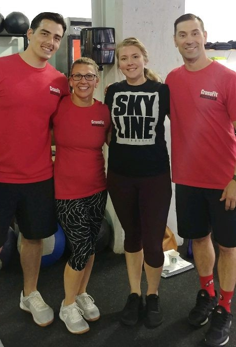 Amisha furthering her education in Dallas this weekend. She added CrossFit Kids certification to her long list of accolades.