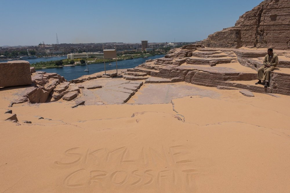 Thanks Brad Andersen for the shoutout all the way from the Giza Plateau in Egypt.