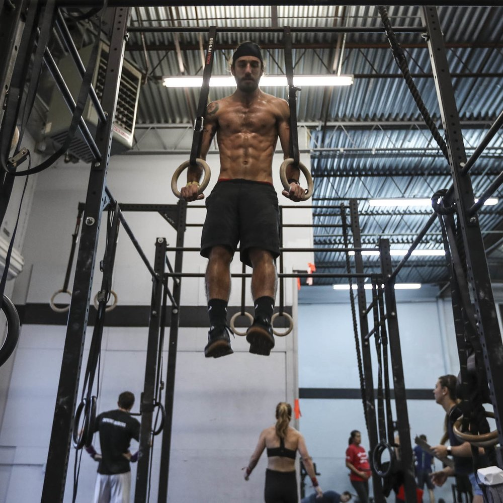 We will be covering all aspects of the Muscle-Up. We will teach not only how to do one but also set us up to do one in the future. We will have many skills and drills built into this workshop as well. Also included will be a 30-day program to continue after the workshop to help you continue on your road to a Muscle-Up.