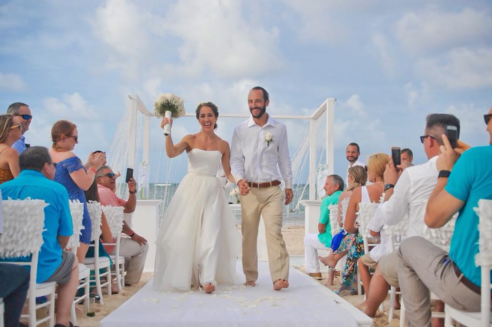 Owner of the Skyline CrossFit Dylan Kucish marrying his beautiful wife and avid CrossFitter Bethany over the weekend in the Dominican Republic.