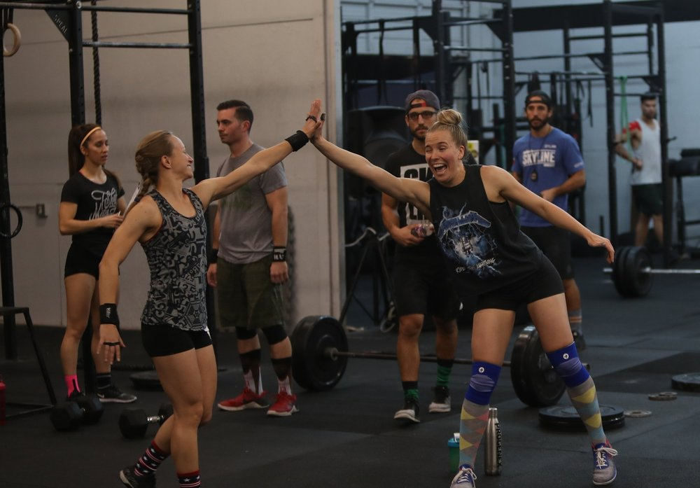 Bring Your Friend to Skyline CrossFit,  every 2nd Saturday of the month!