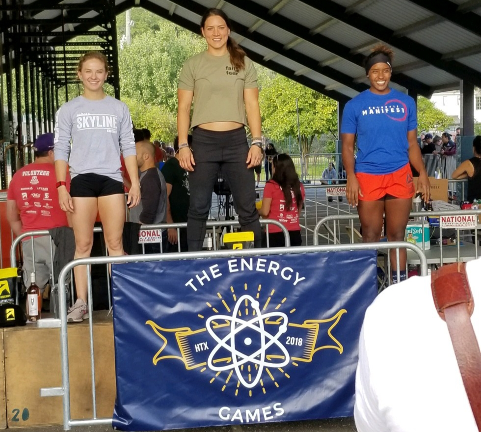 Congratulations to Samantha Peter's finishing in 2nd place at Energy Games this weekend.