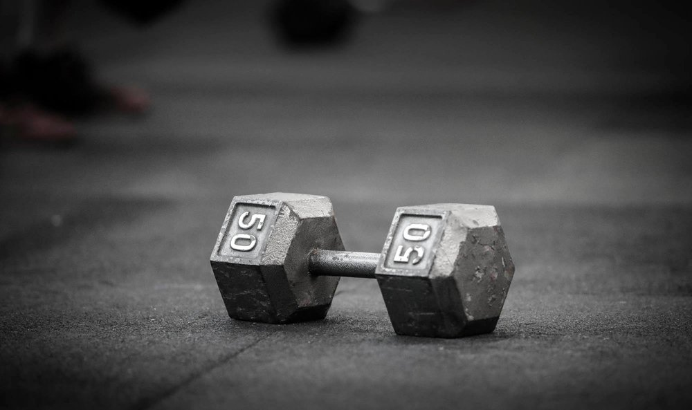 """To get a bigger deadlift, mature your handstand and use more dumbbells. Dumbbells increase demand of dealing with two independent loads as a worthy departure from the barbell to the extent of variance. ""  -Greg Glassman"